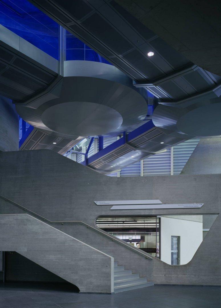Zaha Hadid S Bmw Central Building In Leipzig Germany