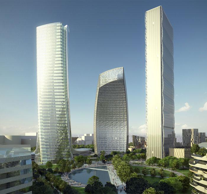 Citylife milano by zaha hadid for Zaha hadid city life