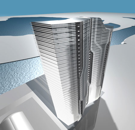 Zhivopisnaya Tower Zaha Hadid