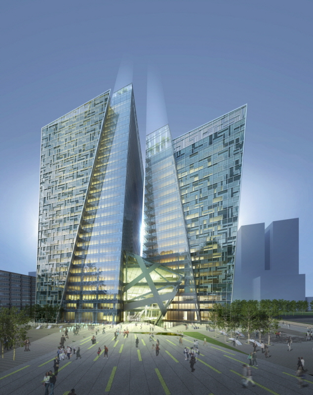 Kt landmark tower by studio daniel liebeskind g lab for Lab architects