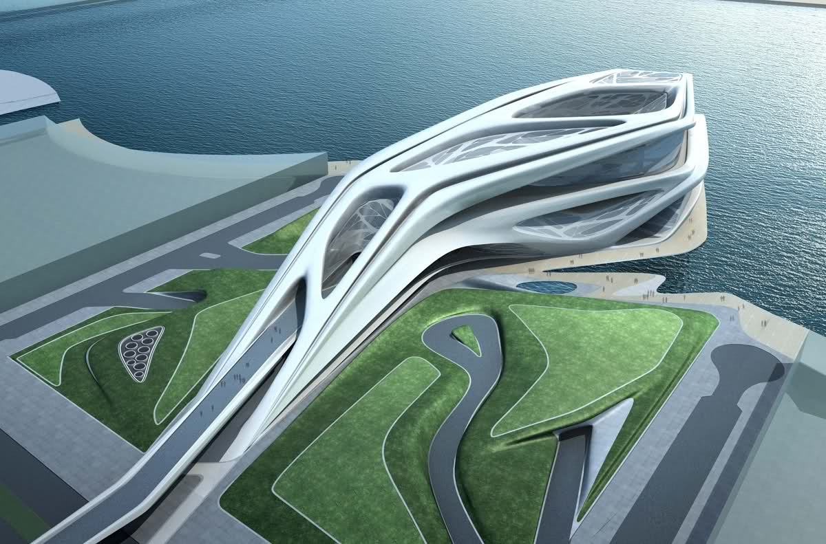 Abu Dhabi Performing Arts Center Zaha Hadid Architects
