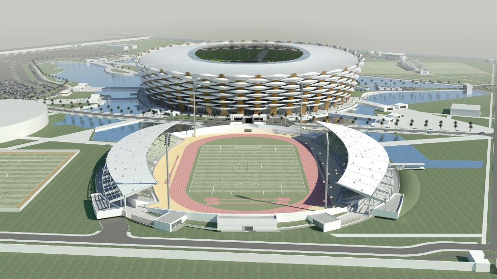 sports city basra iraq 360 architecture 01