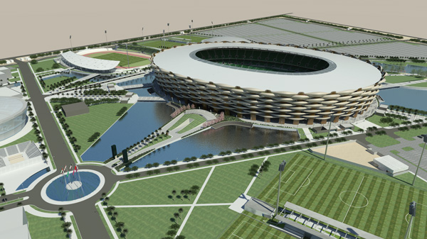 sports city basra iraq 360 architecture 04