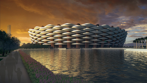 sports city basra iraq 360 architecture 08