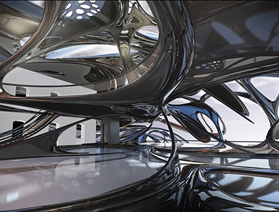 Parametric architecture by Xefirotarch