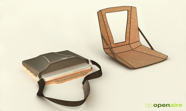 Openaire – Laptop Case & Workstation by Nick Trincia