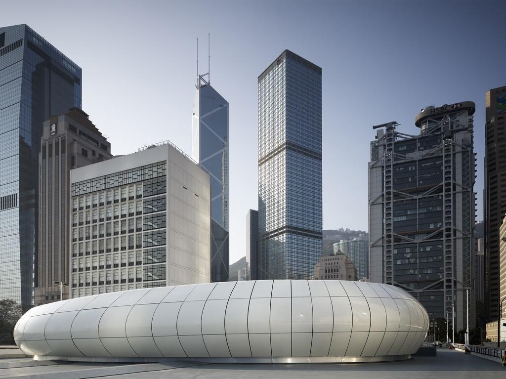 Chanel Mobile Art Pavilion Zaha Hadid Architects