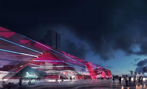 Shenzhen Cultural Complex | Mecanoo Architecten