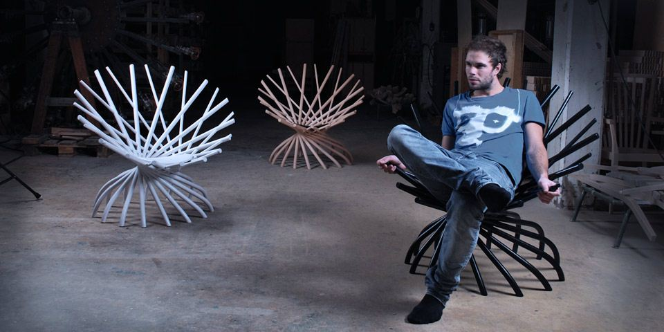 Hand Spun Chair  Markus Johansson 02