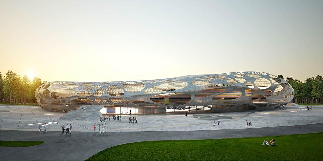 Organic Mesh Football Stadium 04