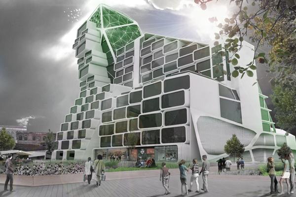 Sustainable London Farm Tower | Brandon Martella