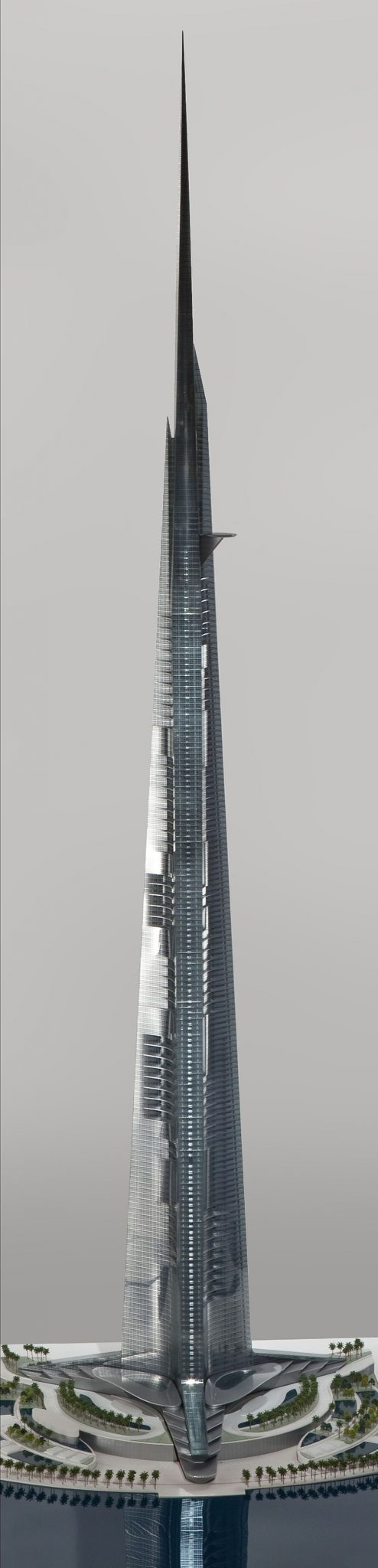 Kingdom Tower Jeddah photo - Tallest building in the world