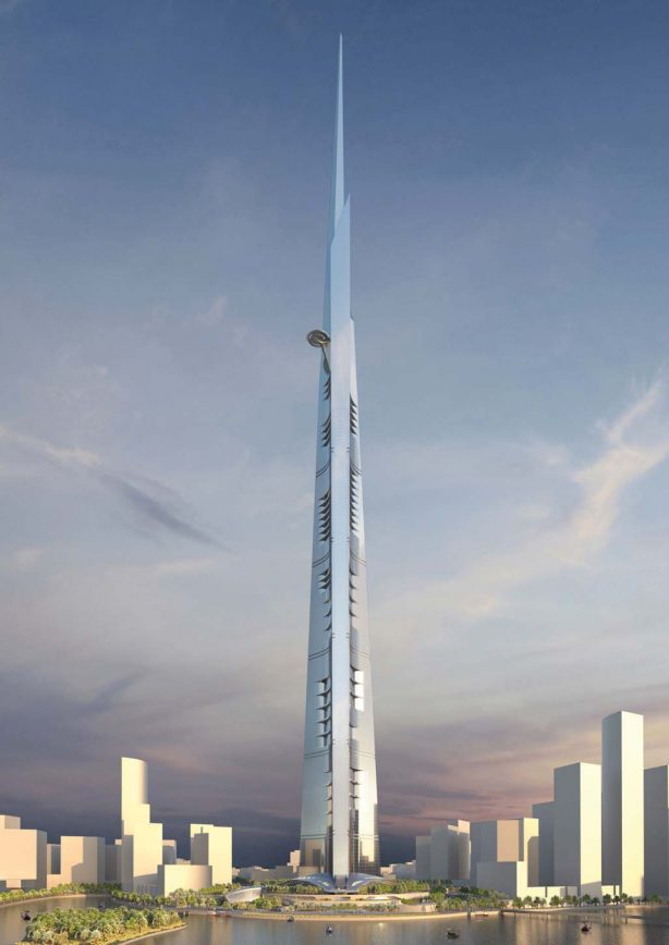 Kingdom Tower Jeddah photo - Tallest building in the world 2