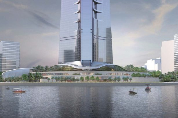 Tallest building in the world kingdom tower
