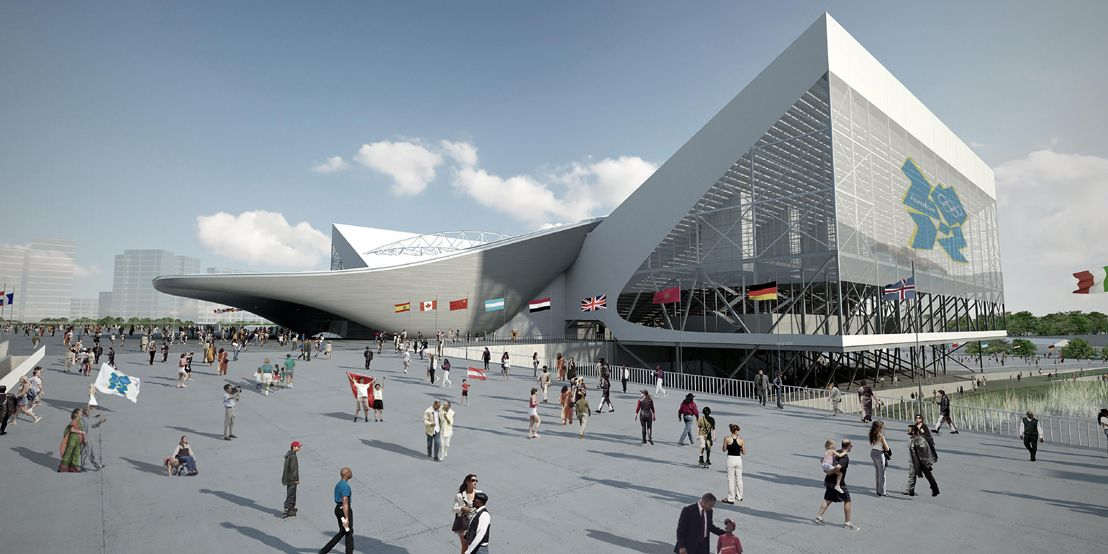 London Olympics Aquatic Center 2012 Zaha Hadid Architects