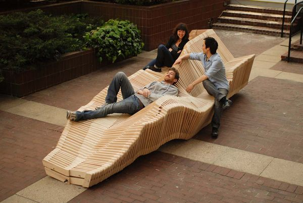 Kinetic Double Sided Bench 01