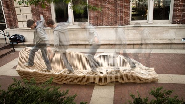 Kinetic Double Sided Bench 02