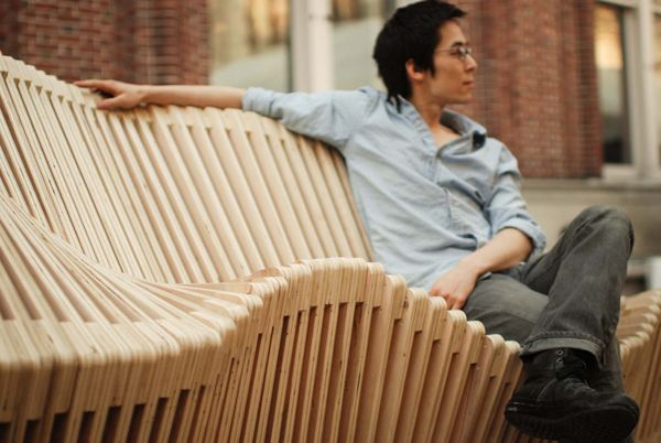Kinetic Double Sided Bench 05