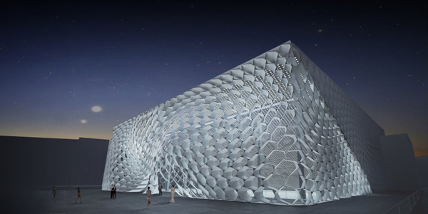 Pushkinsky Cinema facade | Synthesis Design + Architecture