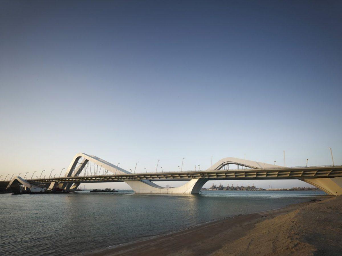 Wavy Sheikh Zayed Bridge | Zaha Hadid Architects