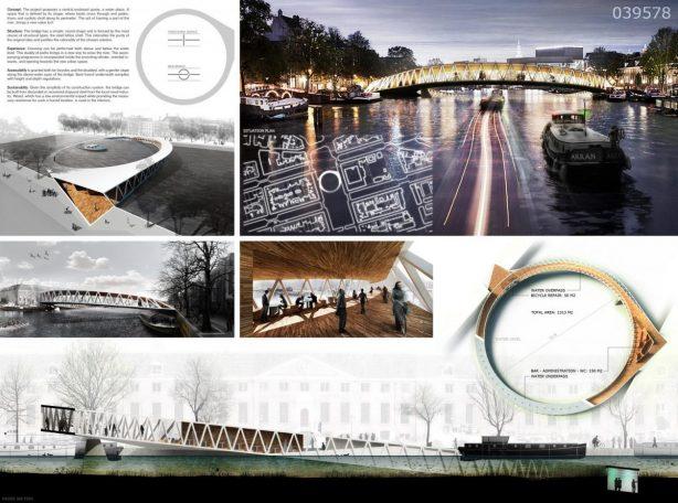 1st Amsterdam Iconic Pedestrian Bridge Competition