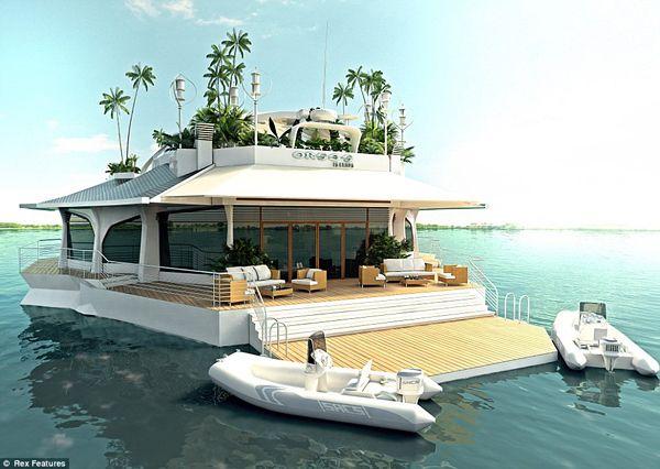 Luxury Osros Floating Island