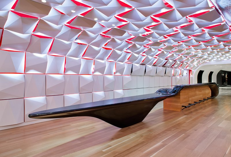 Parametric Salon urbain at Place des Arts | Sid Lee Architecture + Aedifica