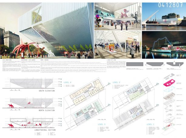 1st Winner - Buenos Aires New Contemporary Art Museum