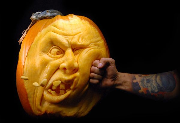 Halloween Pumpkin Carvings | Ray Villafane
