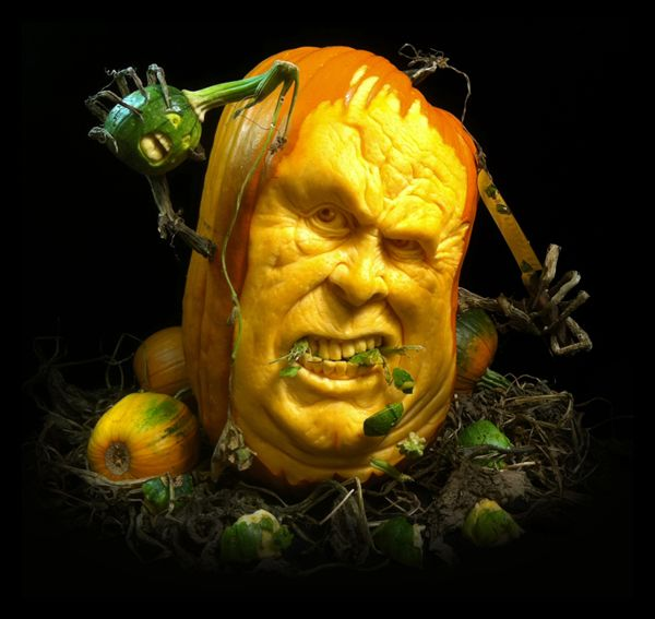 Halloween Pumpkin Carvings ideas - Ray Villafane