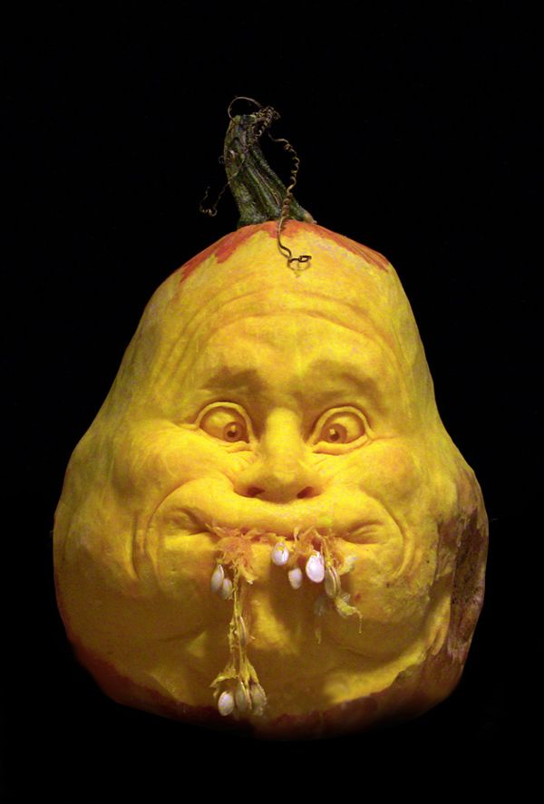 Halloween Pumpkin Carvings ideas - Ray Villafane