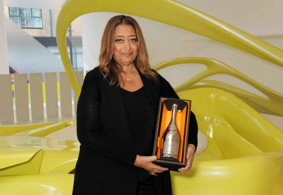 Zaha Hadid wins the Veuve Clicquot Business Woman Award 2013