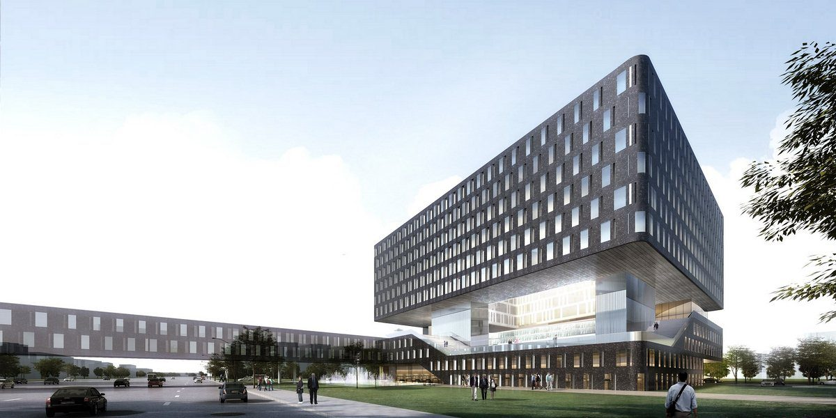 Linkong 16 1 novotel hotel aedas for Hotel design architecture