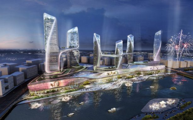 Tongzhou Central Business District UNStudio 002