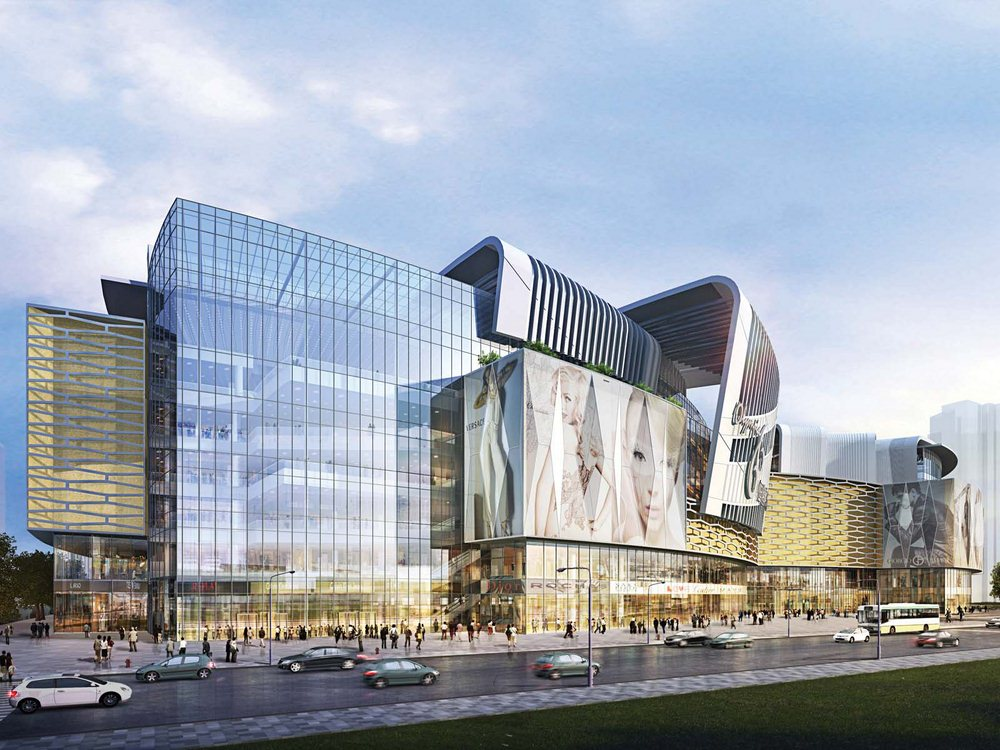 Olympia 66 Shopping Mall in Dalian, China | Aedas
