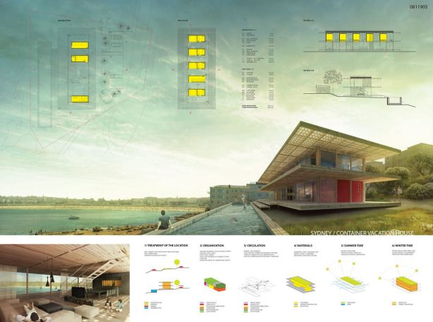 1st Winner - SYDNEY Container Vacation House Competition