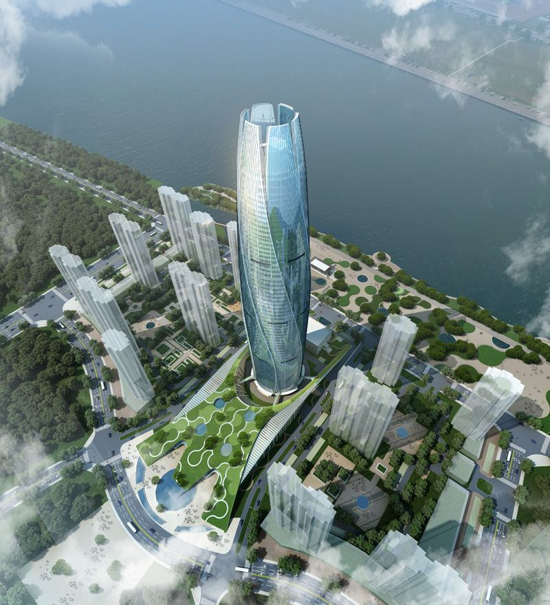 Rosebud Skyscraper In Fushun China By Ua Studio 7