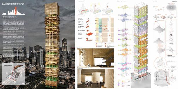 Singapore Bamboo Skyscraper 01