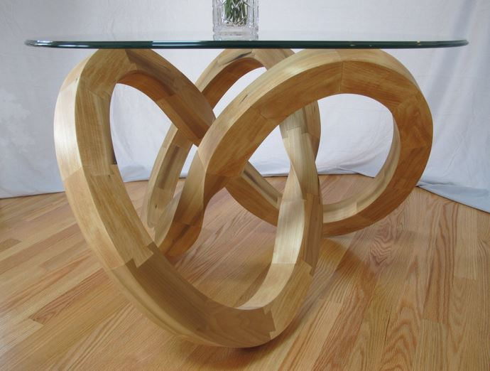 Torus Knot Table by Mark Meier