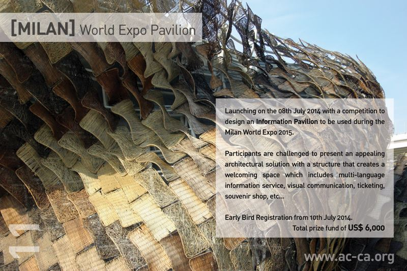 [MILAN] World Expo Pavilion Competition by AC-CA