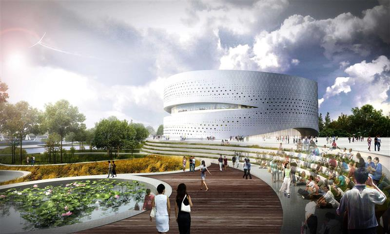 Binhai Eco City Master Plan By Hao