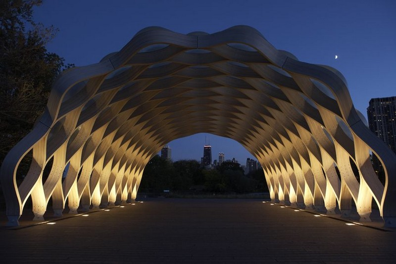 Tortoise Shell Pavilion At Lincoln Park Zoo By Studio Gang