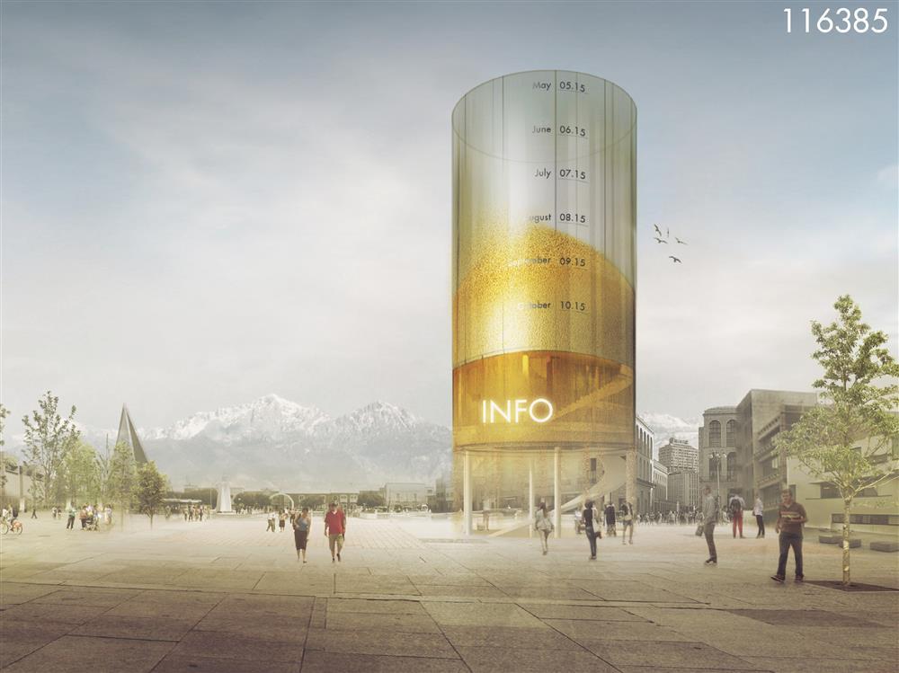1st Winner-MILAN World Expo Pavilion-f