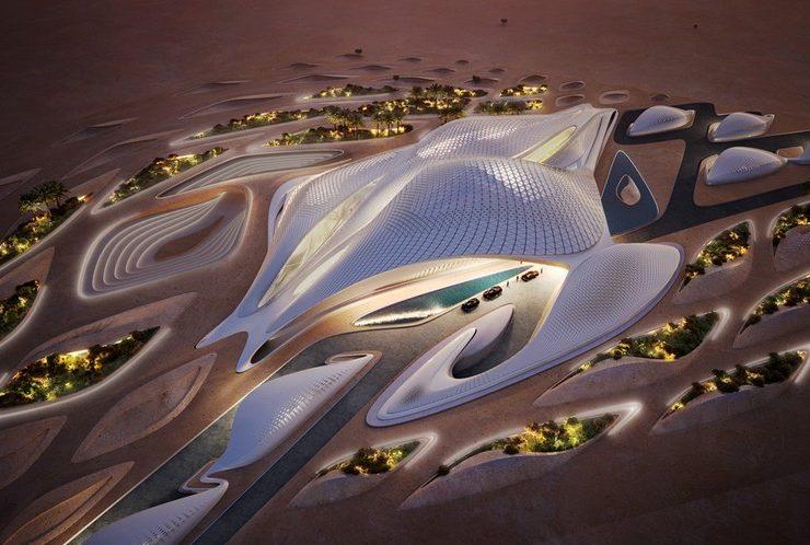 Bee'ah Headquarters Sharjah Zaha Hadid