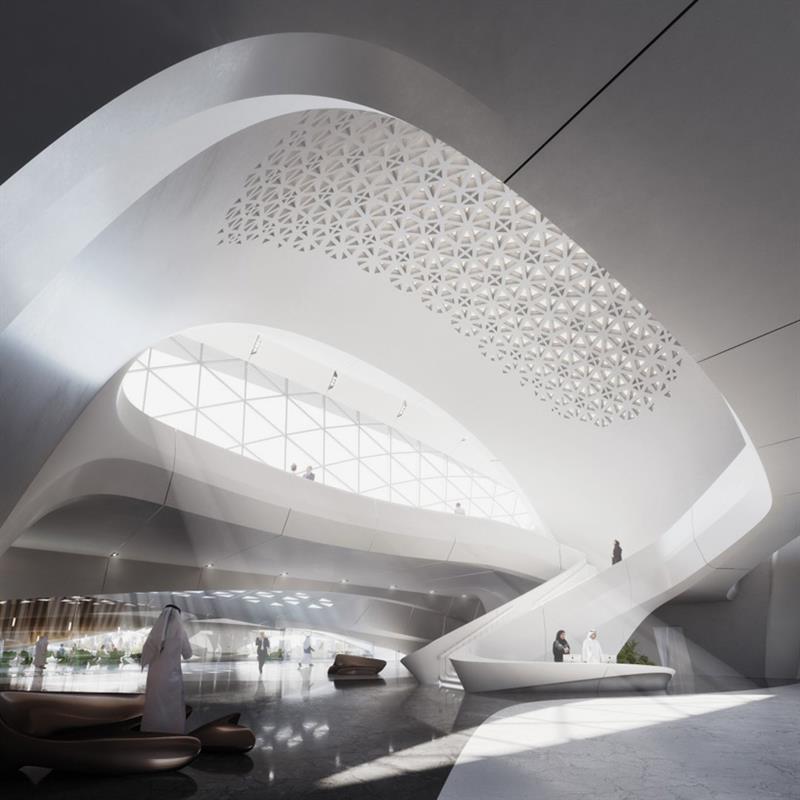 Zaha Hadid Bee'ah Headquarters Sharjah