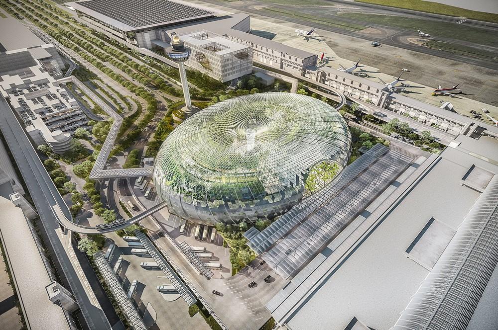 Project Jewel Changi Airport 1