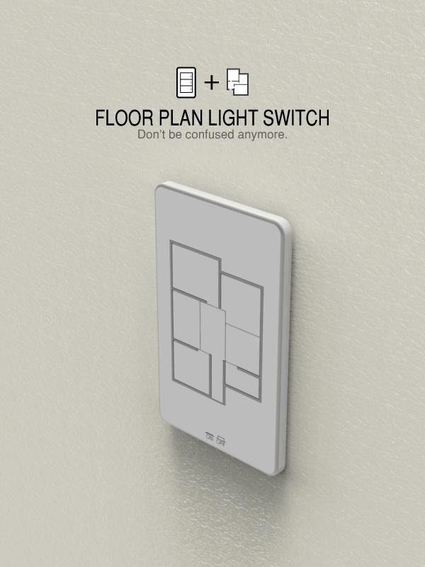 Floor Plan Light Switches 1