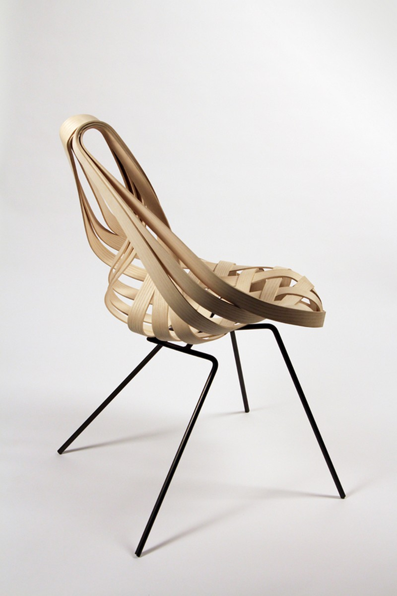 Saji chair by laura kishimoto - Chaise originale design ...