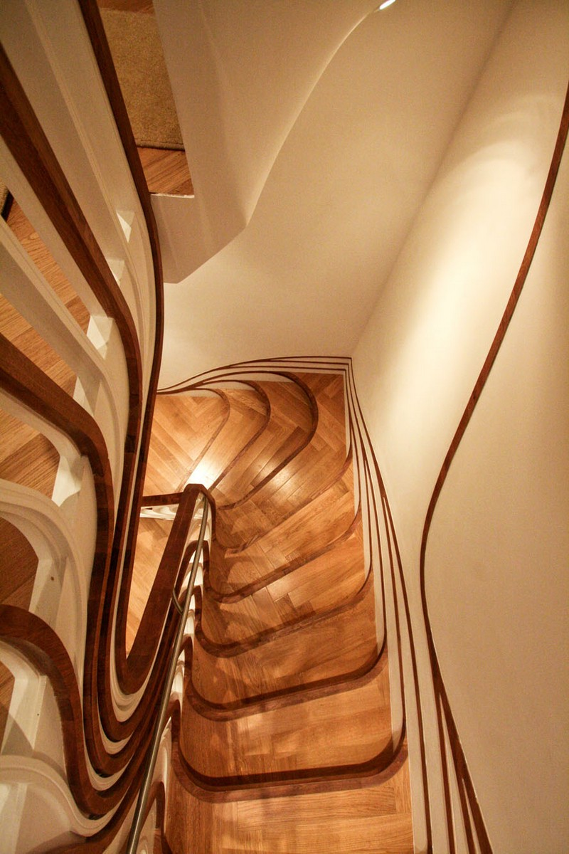 Sculptural Stair Sensualscaping Atmos Studio 11