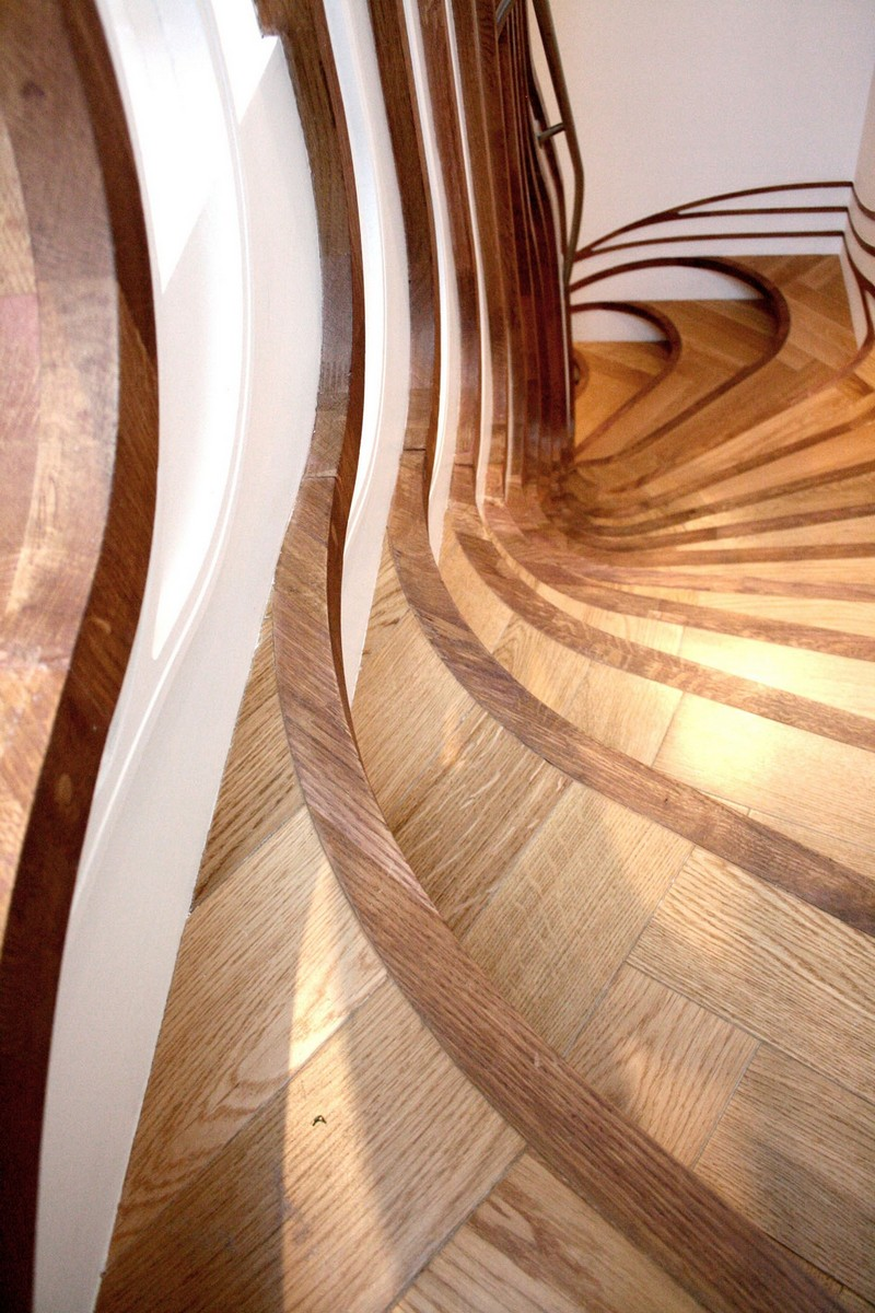 Sculptural Stair Sensualscaping Atmos Studio 12